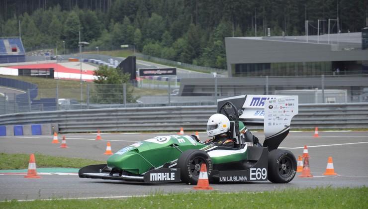 Za slovensko ekipo v Formuli Student odlična sezona, cilji so izpolnjeni