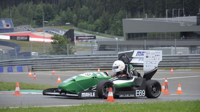Za slovensko ekipo v Formuli Student odlična sezona, cilji so izpolnjeni (foto: Superior Engineering)