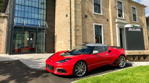 Lotus Evora posvečen Jimu Clarku bo še teden dni iskal novega lastnika - z malo sreče je lahko tudi vaš (foto: Lotus)