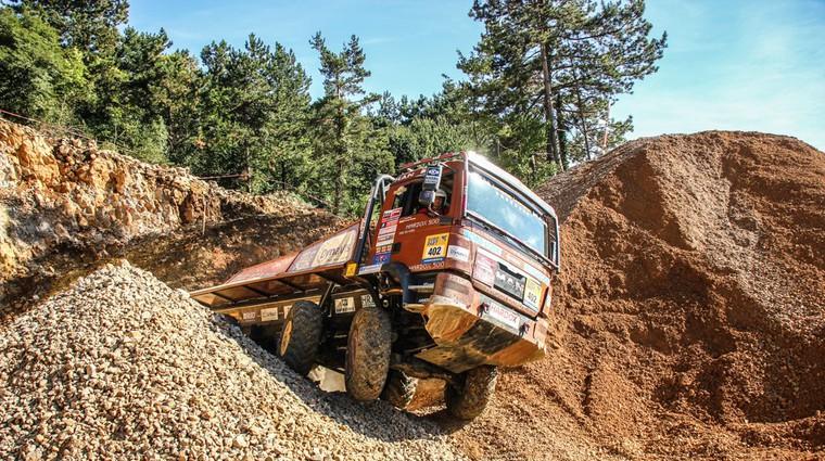 Pivko okupirali najboljši evropski terenski tovornjaki (foto: MAN)