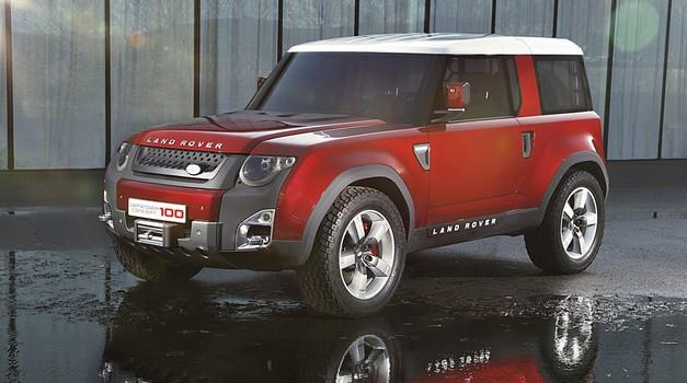 Novi Land Rover Defender prvič brez kamuflaže (foto: Arhiv AM)