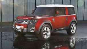 Novi Land Rover Defender prvič brez kamuflaže