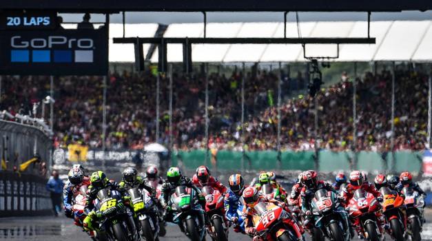 Moto GP, VN Velike Britanije: »Živela Španija!« (foto: Michelin, Dorna)