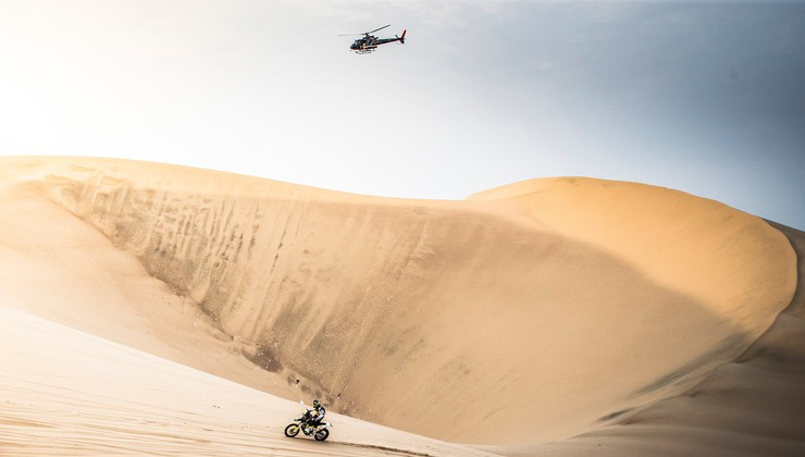 Dakar del svetovnega prvenstva, reli vse bolj podoben MotoGP