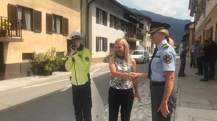 V Posočju pogrešajo policiste (foto: AVP)