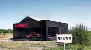 Nissan Juke glavna zvezda v FranCfOrtu