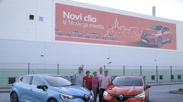 Kako je novi Clio navdušil prve slovenske voznike? (foto: Saša Prelesnik)