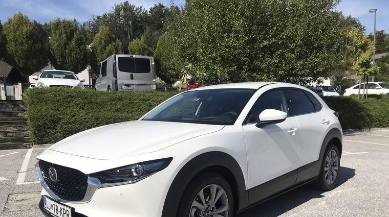 Novo v Sloveniji: CX-30 (foto: Tomaž Porekar, Mazda)