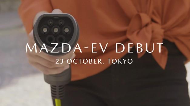 Mazda tik pred predstavitvijo prvega električnega avtomobila (foto: Mazda)