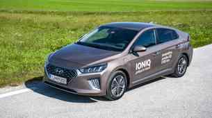 Novo v Sloveniji: Hyundai ioniq