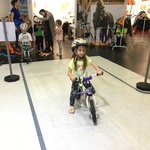 Dogodka se je udeležilo tudi 150 otrok iz različnih koncev Slovenije, ki so se tako na zabaven način učili prometnih pravil (foto: Jure Šujica)