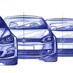 Osmi Volkswagen Golf v notranjosti kot Touareg (foto: Volkswagen)
