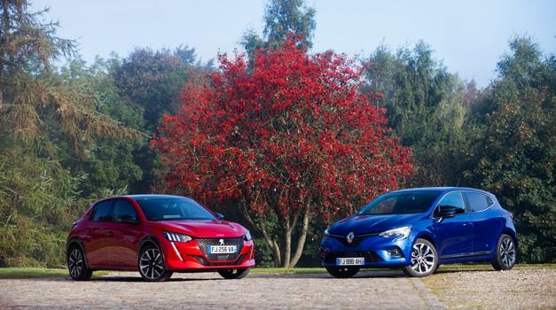 Ekskluzivno: Primerjamo Renault Clio in Peugeot 208 (foto: Saša Kapetanovič)