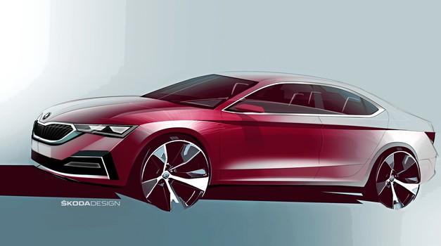 Škoda Octavia v novi podobi po poti Scale (foto: Škoda)