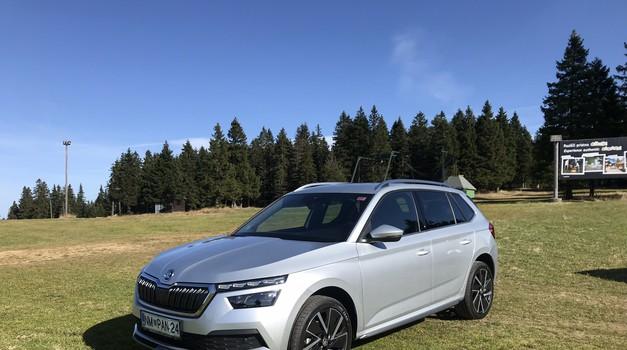 Novo v Sloveniji: Škoda Kamiq (foto: Tomaž Porekar)