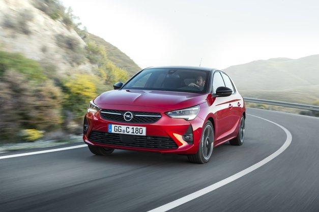 Športna, lepa in varčna nova Opel Corsa (foto: FOTO: promocijski material)