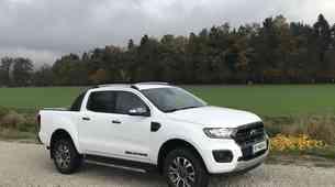 Novo v Sloveniji: Ford Ranger in Ford Tourneo Custom M-HEV