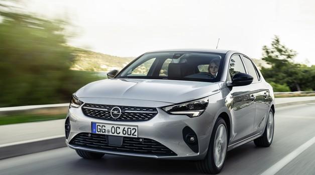 Corsa v aktualni generaciji zadnjič na bencin (foto: Opel)