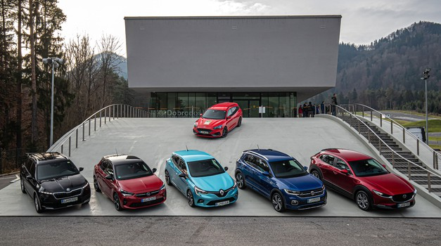 Slovenski avto leta 2020: zadnja testiranja (foto: Uroš Modlic)