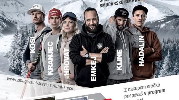 Petrol in Športna loterija s srečkami v podporo mladim smučarjem (foto: Petrol)