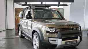Novo v Sloveniji: Land Rover Defender