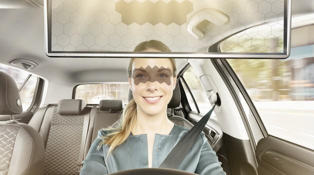 Bosch na novo ustvaril avtomobilski senčnik (foto: Bosch)
