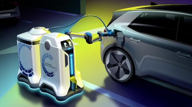 Konec je iskanja električnih polnilnic - ta bo prišla kar sama (foto: Volkswagen)