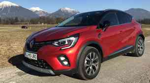 Novo v Sloveniji: Renault Captur