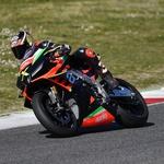 Iannone potrjen tudi drugič. Bo Max Biaggi testni voznik Aprilie? (foto: Aprilia)
