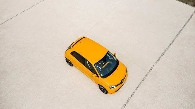Tudi električni Twingo iz Novega mesta (foto: Renault)