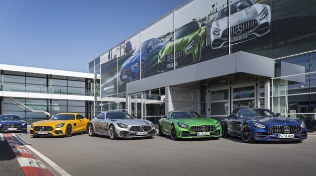 Takšna je prihodnost Mercedesove znamke AMG (foto: Daimler AG)