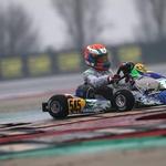 Mark Kastelic v novo sezono z uvrstitvijo kariere (foto: Team Driver racing kart)