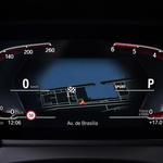 Merilniki so digitalni, a pri BMW-ju vseeno pogrešamo več različnih načinov grafičnih prikazov. (foto: Bmw)
