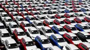 Kitajska zabeležila kar 92-odstotni padec prodaje novih avtomobilov