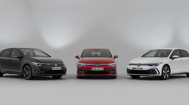 Vsi športni Golfi se predstavijo naenkrat (foto: Volkswagen)