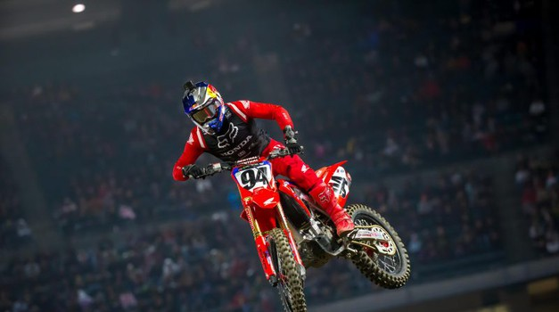 Monster Energy Supercross: Roczen še ni rekel zadnje (video) (foto: Honda)