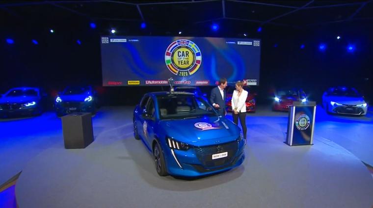 COTY 2020: Evropski avto leta 2020 je Peugeot 208 (foto: Youtube: COTY)