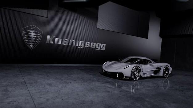 Koenigsegg Jesko Absolut naj bi dosegel 531 kilometrov na uro (foto: Koenigsegg)