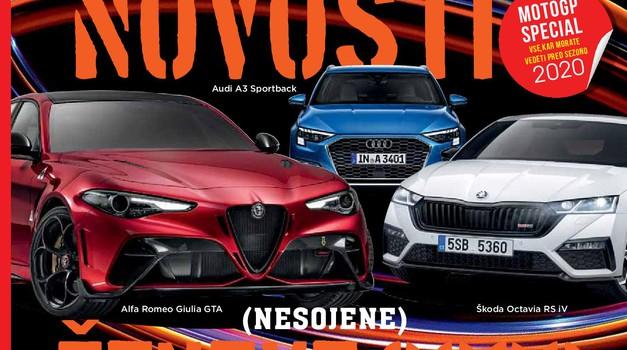 Izšel je novi Avto magazin: testi za Peugeot 2008, VW Passat GTE, Mitsubishi L200 ... (foto: Arhiv AM)