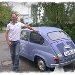 """""""Vsako jutro perem svoj avto"""" (foto: Osebni arhiv)"""