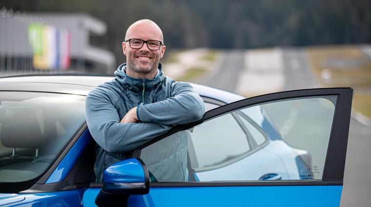 """""""Ne avtomobilov, najbolj se veselim novih konceptov"""" (foto: Osebni arhiv)"""