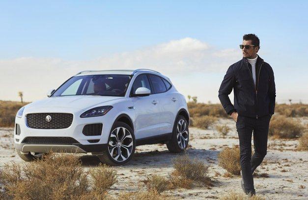 Jaguar E-PACE - jekleni konjiček za prave moške s stilom (foto: promocijski materiali)