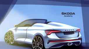 Obrisi Škodinega prvega roadsterja postavljeni na ogled