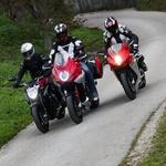 'Tre pistoni' v vsakem primeru ponujajo odgormno adrenalina in hitrosti. (foto: Saša Kapetanovič)