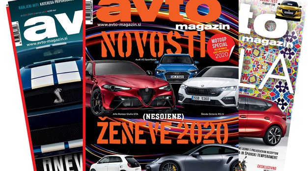 Aktualno številko revije Avto magazin si lahko naročite na dom, poštnino za vas plačamo mi! (foto: Arhiv AM)
