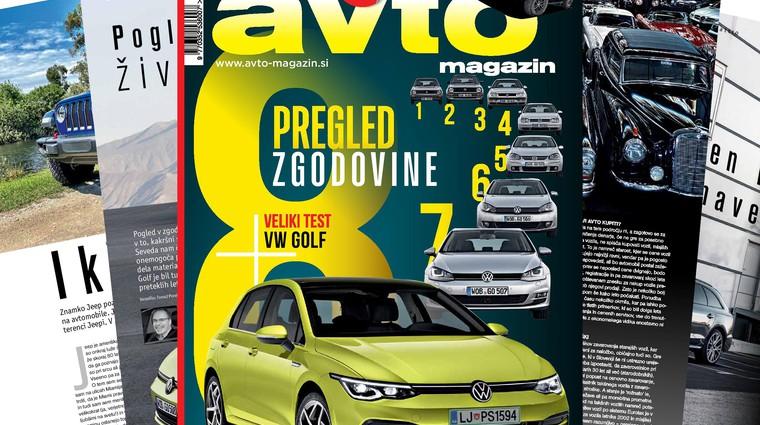 Izšel je novi Avto magazin: Testi: Volkswagen Golf, Ford Ranger Raptor ... (foto: Arhiv AM)