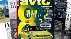 Izšel je novi Avto magazin: Testi: Volkswagen Golf, Ford Ranger Raptor ...