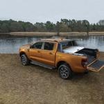 Ranger se izkaže z nosilnostjo - nanj lahko naložimo več kot tono, z njim lahko vlečemo 3,5 tone. (foto: Ford)