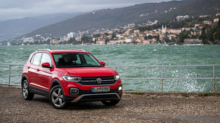 Podaljšani test: Volkswagen T-Cross - Garač in uživač (foto: Uroš Modlic)
