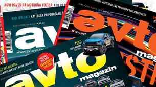 Prebirajte Avto magazin (in še štiri druge revije) vse leto za 10 evrov!